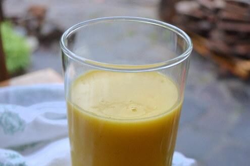Sweet & Tart Mango Lime Lassi