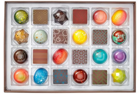 Gourmet Chocolate Gift Box from Christopher Elbow Chocolates