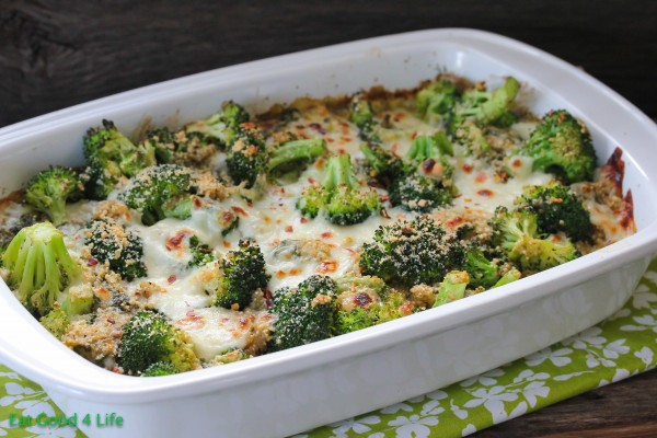 Easy Vegetarian Meals Healthy Casserole Quinoa Broccoli Mozzarella Parmesan Cheese