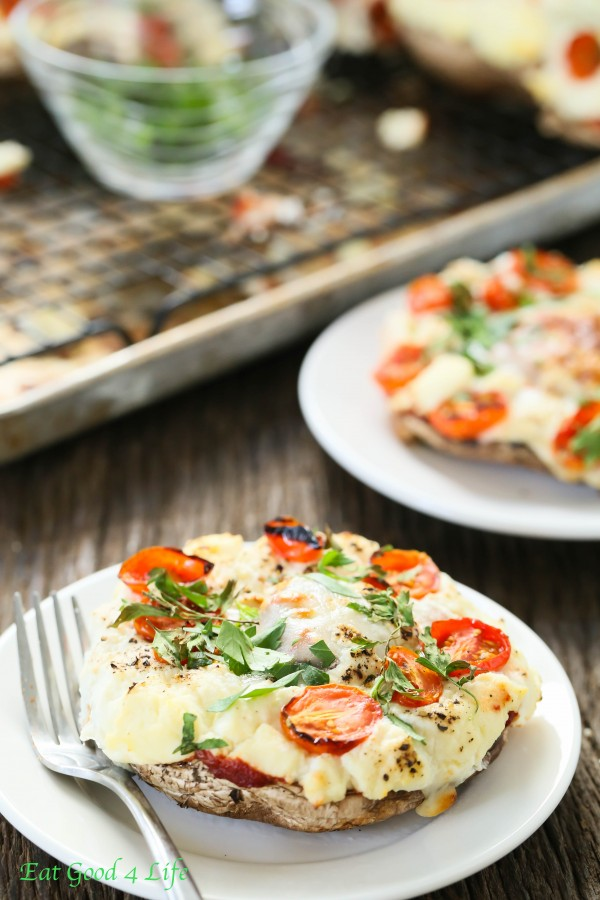 Stuffed portobello pizza | Eat Good 4 Life