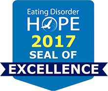 Eating Disorder Hope's Seal of Excellence