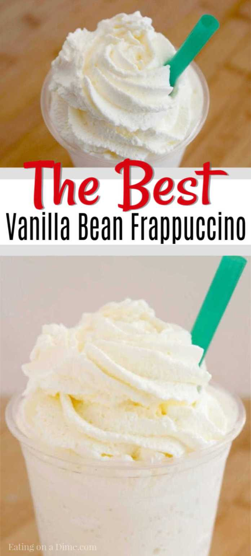 Starbucks Vanilla Bean Frappuccino Recipe Cooking Time 24