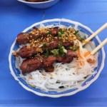 The best Bún Thịt Nướng in Saigon - maybe anywhere!!