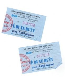 Saigon Prices - Bus ticket