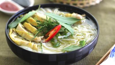 Pho Ga -Chicken Rice Noodle Soup