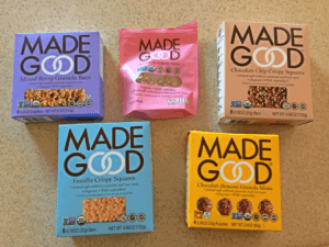 Made Good Snacks