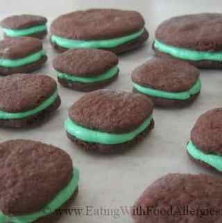 Gluten free sandwich cookies
