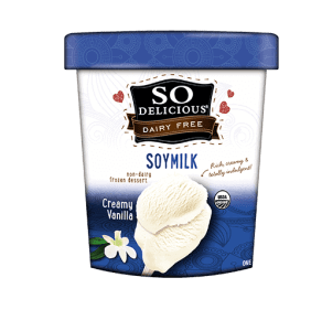 soy milk ice cream