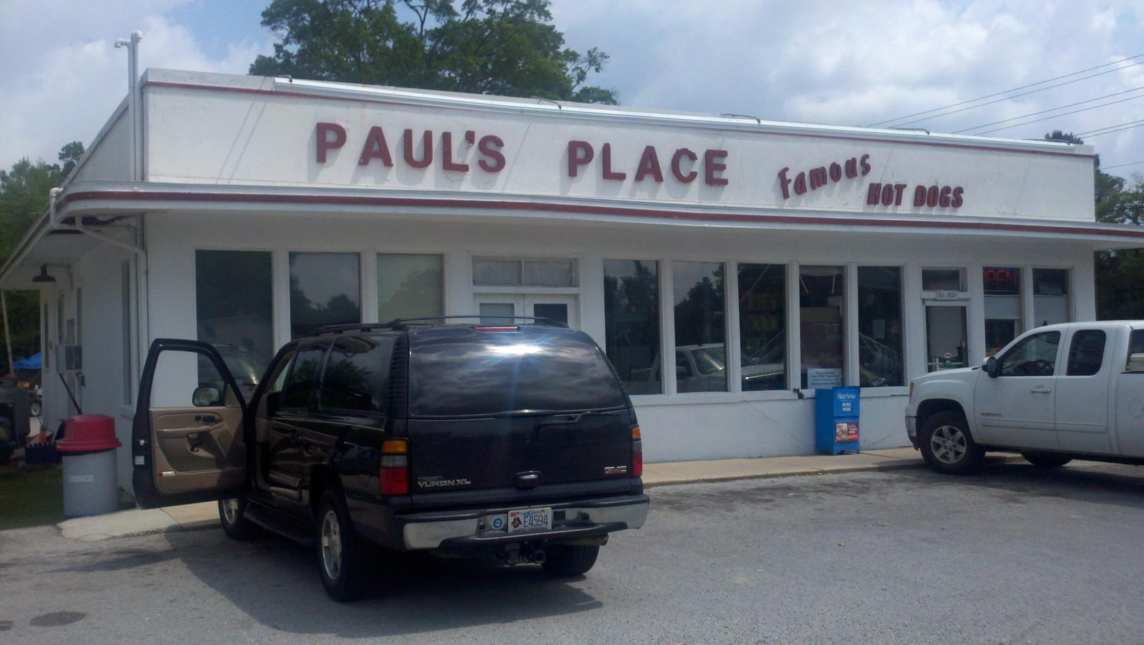 Review paul 39 s place rocky point eat it north carolina for Fast food places open on easter sunday