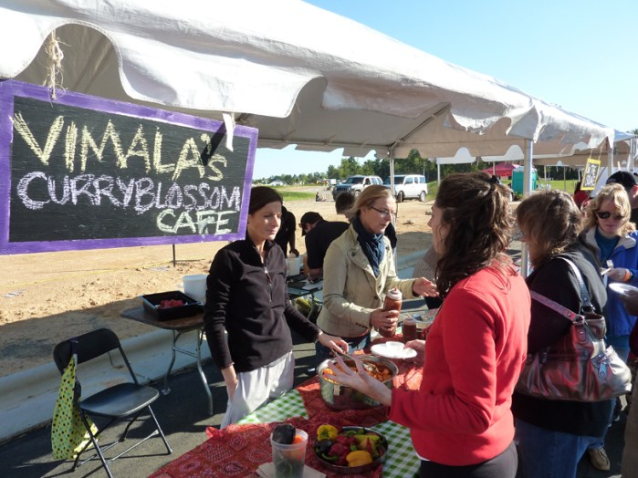 Vimalas Curryblossom Cafe had a booth