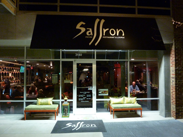 The exterior of Saffron in Chapel Hill