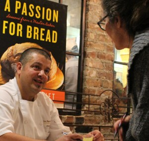 "Lionel Vatinet, La Farm's Master Baker, signs copies of his new book ""A Passion for Bread"""