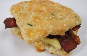 cheddar chive biscuit