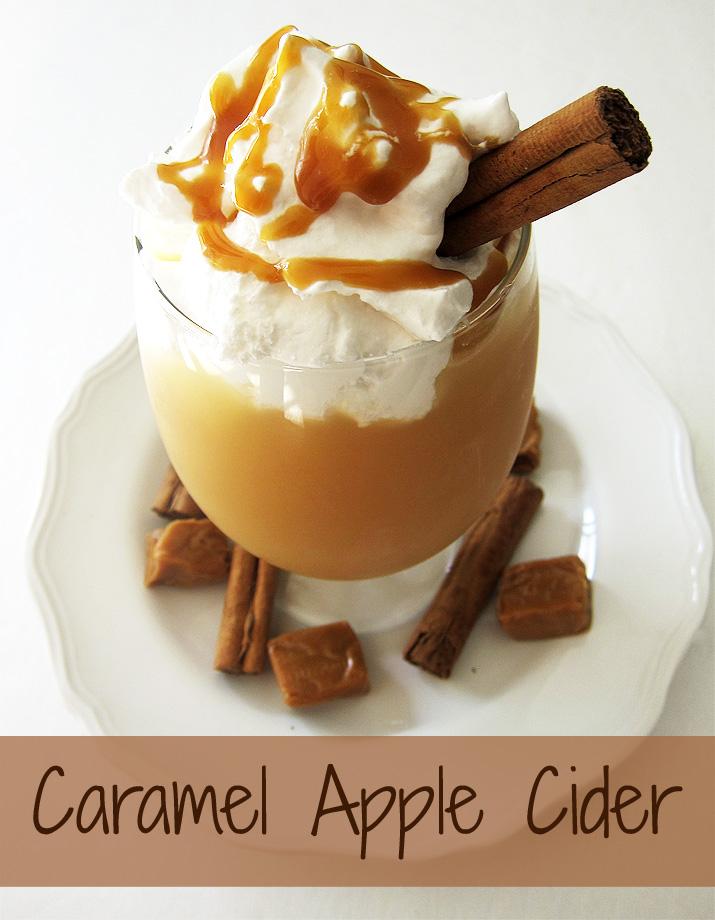 Caramel Apple Cider | www.EatLaughPurr.com