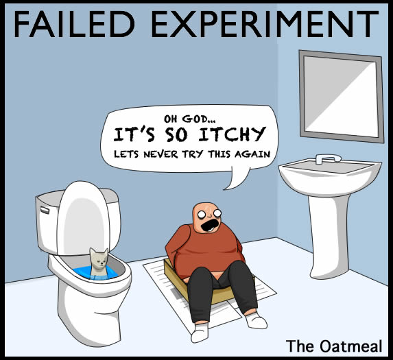 Failed Experiment Comic from The Oatmeal