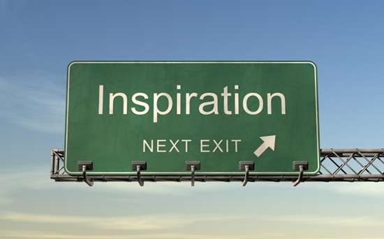 Street Sign: Inspiration, Next Exit