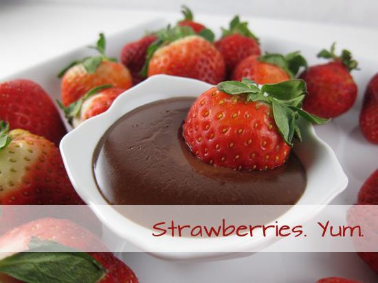 strawberries. yum.