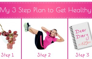 3 step plan to get healthy