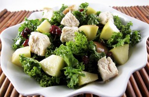 apple kale salad