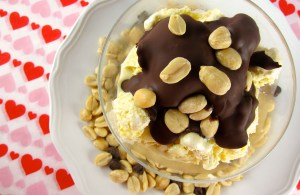 chocolate shell topping