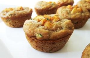 Apple Cinnamon Zucchini Muffins