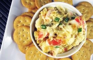 Crab and Artichoke Dip   www.EatLaughPurr.com