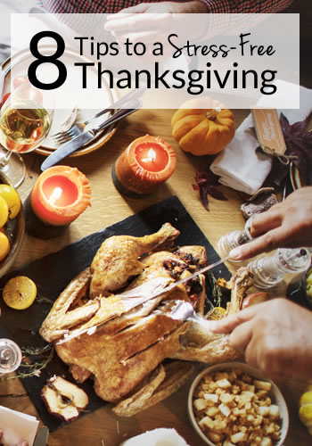 Want to host a stress-free AND fabulous Thanksgiving celebration? I'm sharing 8 Tips that will help you throw an amazing celebration without needing antacids.