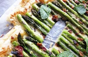 Asparagus Tart with Bacon