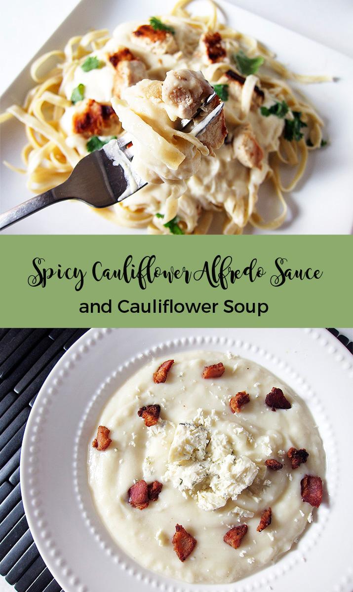 Spicy Garlic Cauliflower Alfredo Sauce