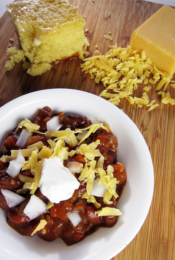 Crockpot Chili - A delicious and easy chili with a special and unusual ingredient.
