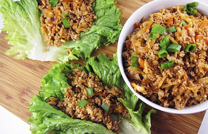 Korean Lettuce Wraps