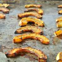 What to Do with a Delicata Squash | Oven Fries