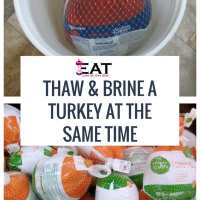 Can You Thaw and Brine Turkey at Same Time