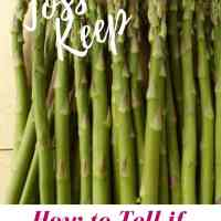 How to Tell If Asparagus is Bad