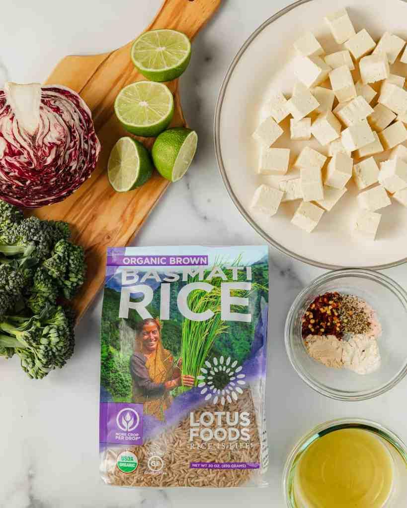 Tofu Bowl Ingredients