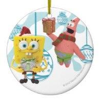 3d spongebob squarepants xmas ornaments