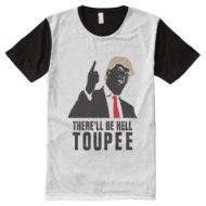 Donald Trump Hell Toupee Merchandise