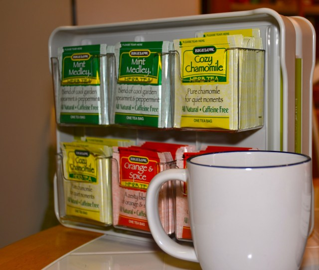 Tame Your Tea with the YouCopia Tea Stand!