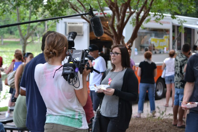 Eat St Food Truck Filming in Orlando