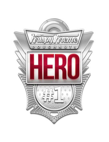 Krispy Kreme Hero Appreciation Day Badge