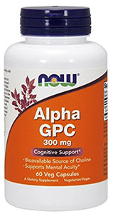 Image of Bottle of Now Alpha GPC
