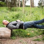 Tim Ferriss Balancing Between Two Trees