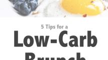 5 Low-Carb Brunch Tips