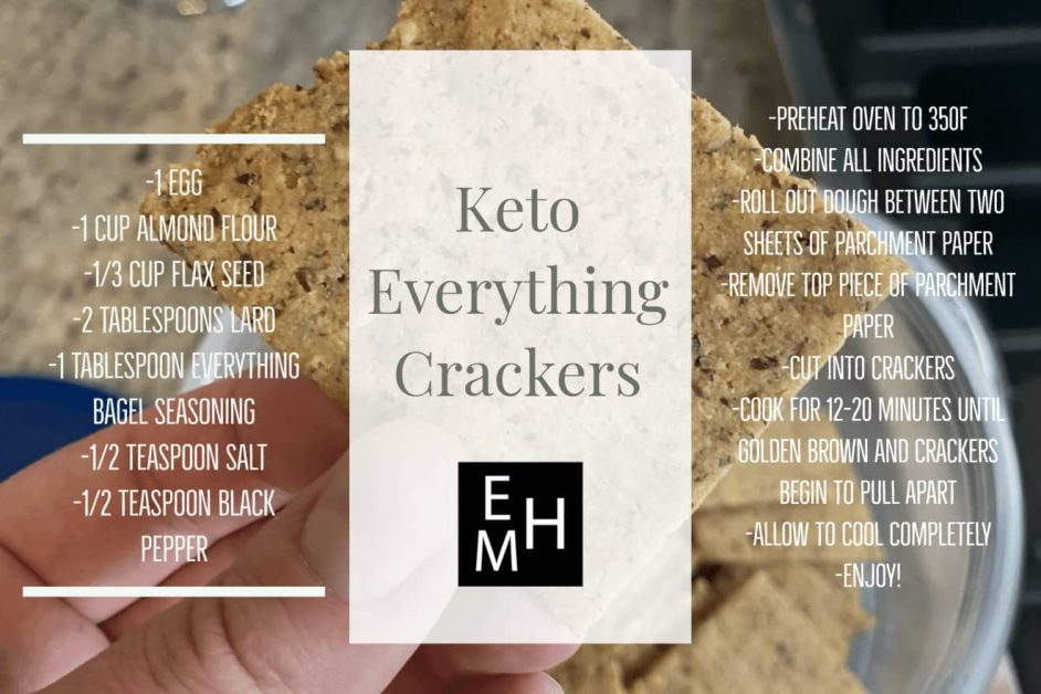 Keto Everything Cracker Recipe