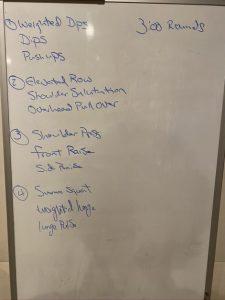 Whiteboard Workout