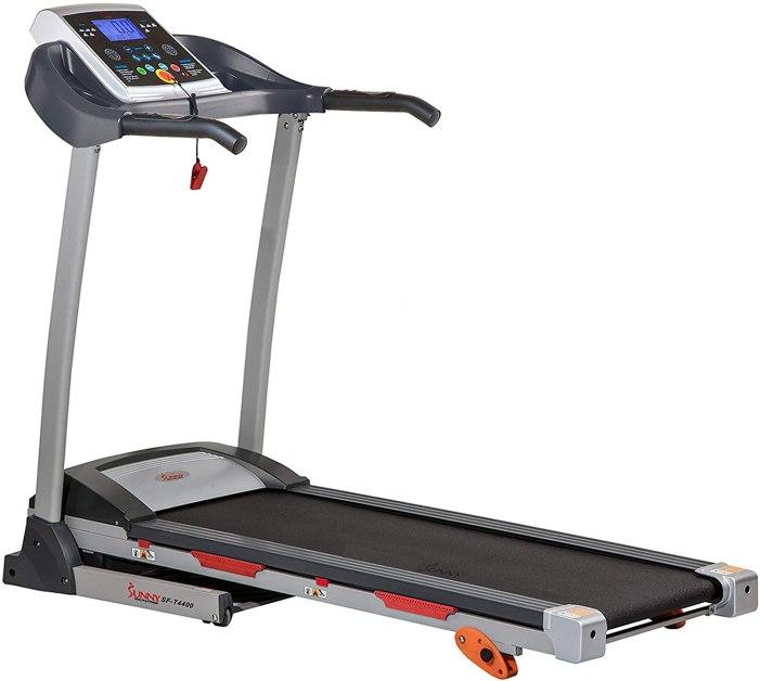 Sunny Health and Fitness Folding Treadmill