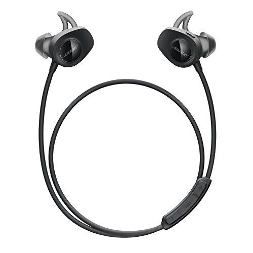 Bose SoundSport, Wireless Earbuds, (Sweatproof Bluetooth Headphones for Running and Sports)
