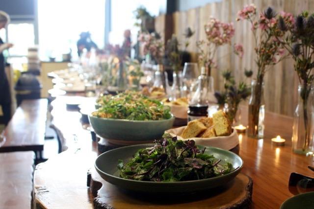 dinner at Locavore Studio Lilydale