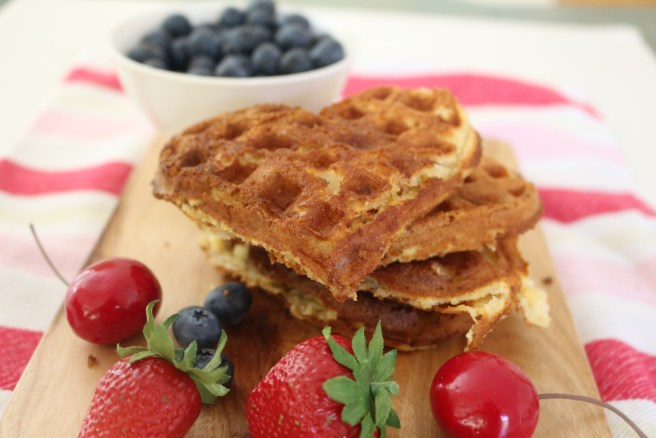 Home-made Waffle Recipe