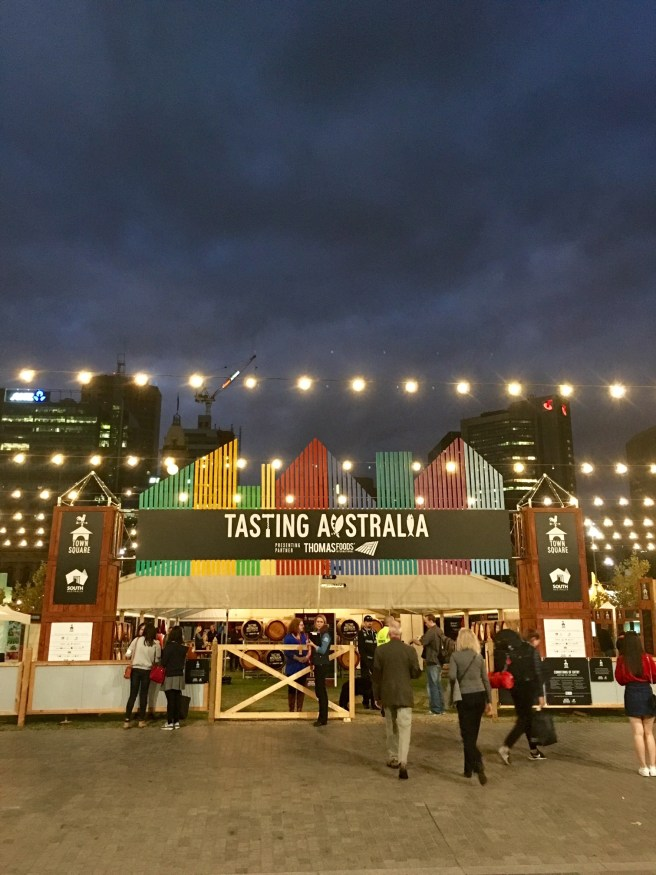 Tasting Australia and Words To Go 2016